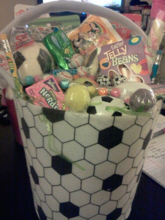 Soccer easter basket this is what i do pinterest easter soccer easter basket negle Gallery