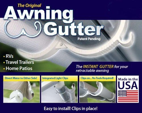 2499 The Original Awning Gutter 19 Piece Kit