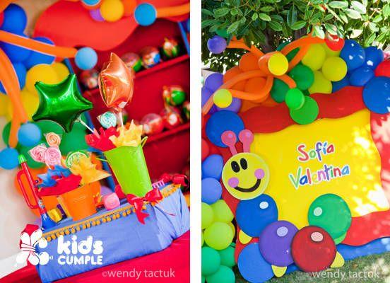Baby einstein birthday party cumplea os kidscumple for Baby einstein decoration