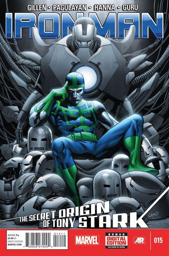 The Secret Origin of Tony Stark #15
