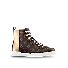 Sneakers de luxe pour Femme   Souliers   LOUIS VUITTON Chaussures De Luxe, Chaussures  Femmes 16eb8f8bb97