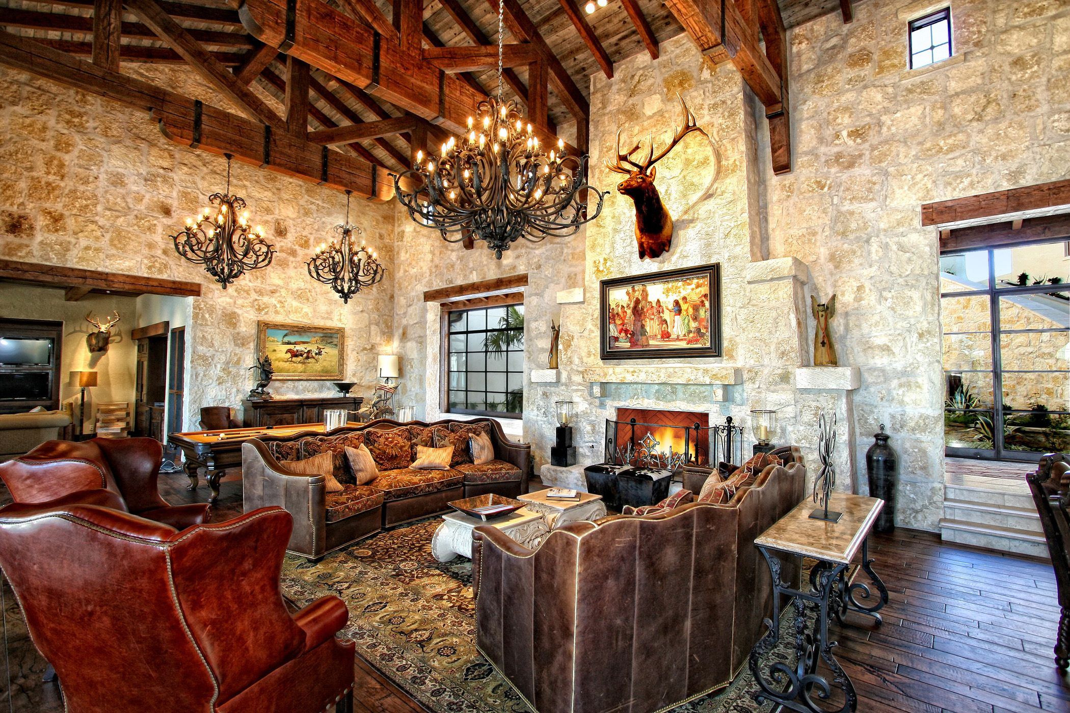 Interiors Western Living Room Decor Western Living Rooms