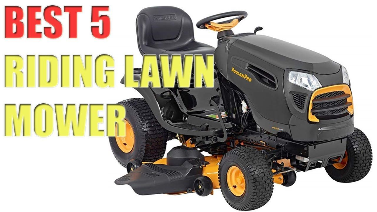 5 Best Riding Lawn Mowers In 2020 Buy At Amazon Best Riding Lawn Mower Riding Lawn Mowers Riding