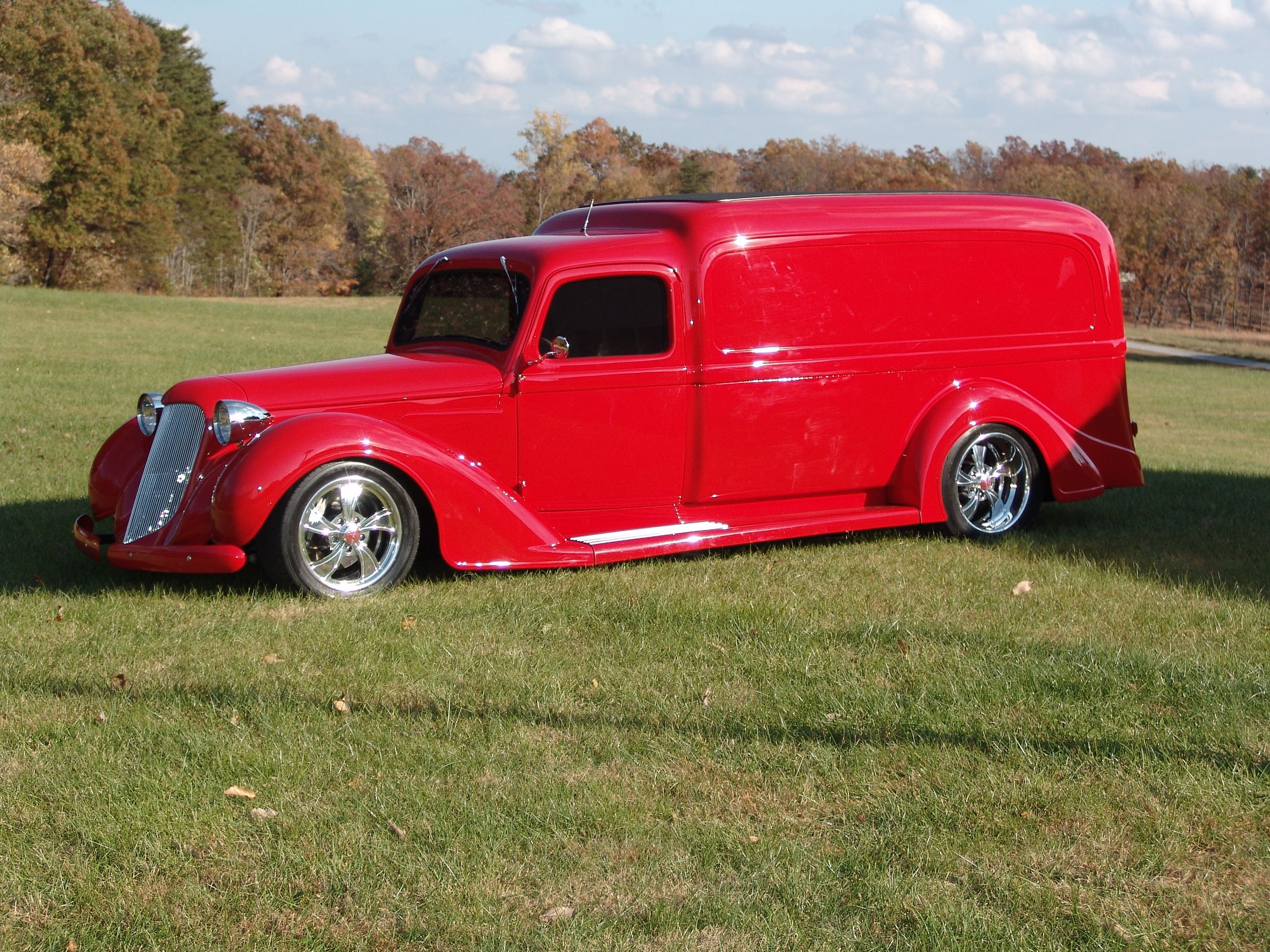 custom classic cars | ... Car wallpapers1936 Dodge panel truck ...