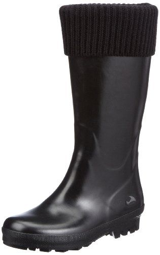 Zapatos de mujer. Viking VENUS warm 1-268-2 - Botas de agua de caucho para  mujer 2c135b3e355d7