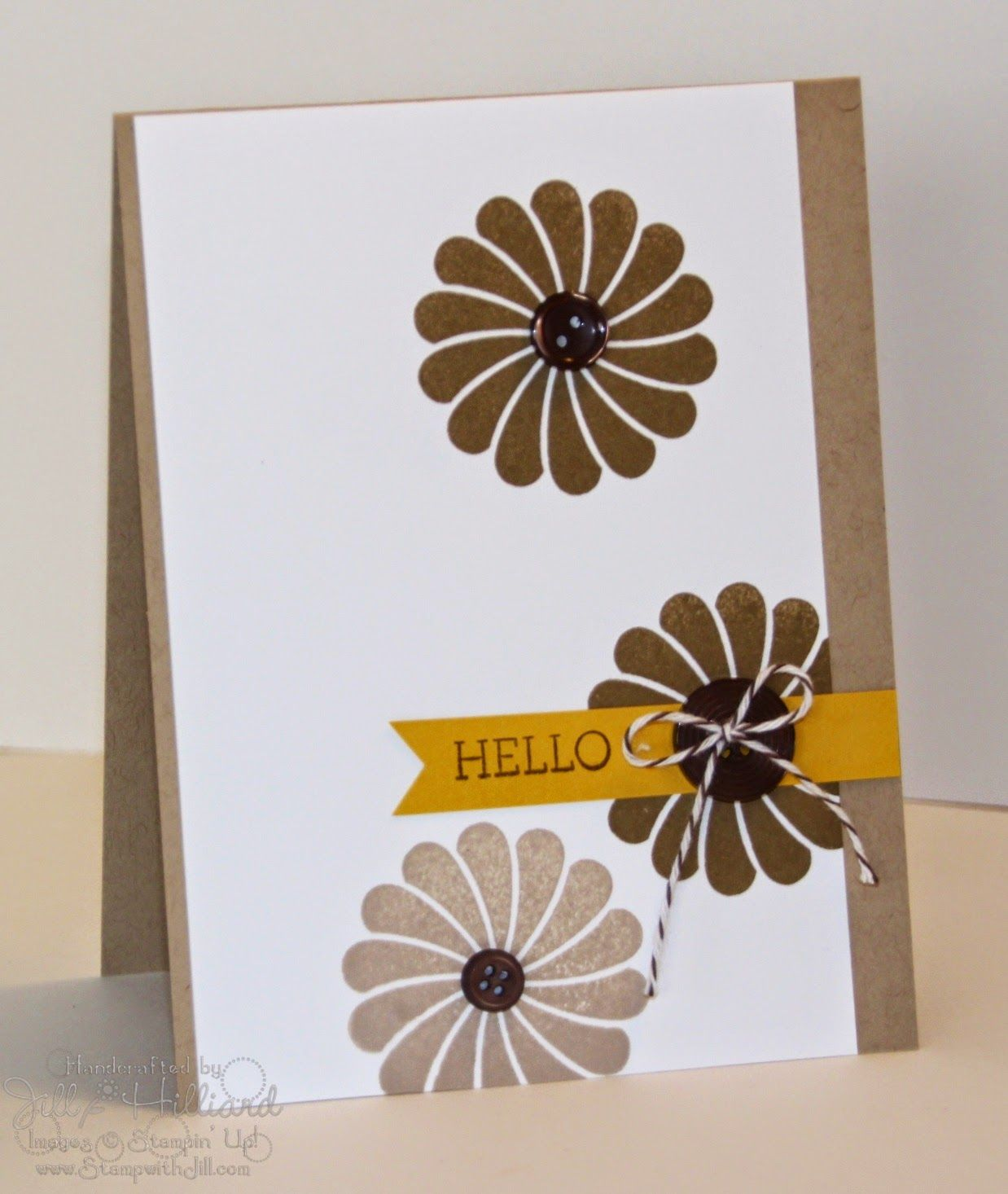 Jill's Card Creations, Crazy About You Stampin Up!