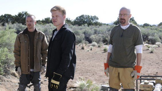 Inside 'Breaking Bad's' Hollywood Cemetery Celebration (Live)