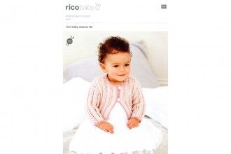 33a946a0c560 Rico Knitting Idea Compact 300 (Leaflet) Baby Classic Cardigans (DK ...