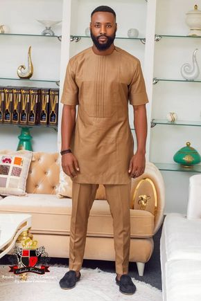 Nigerian Label Anuba Couture Presents To You Its Latest Menswear