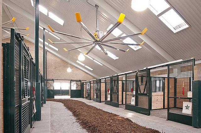 big ass fans winstar farms installation kentucky derby kentucky and farming. Black Bedroom Furniture Sets. Home Design Ideas