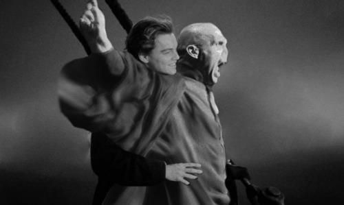His last moment of happiness before he went to the Dark side.