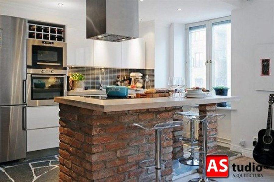 cocina moderna rustica - Buscar con Google | Foamy cake | Pinterest ...