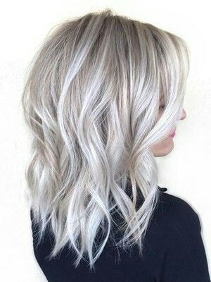 Love This Ice Grey Hair Silver Blonde Hair Silver Hair Grey