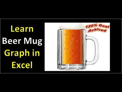 Learn beer mug graph in excel youtube pk an excel expert learn beer mug graph in excel youtube ccuart Gallery