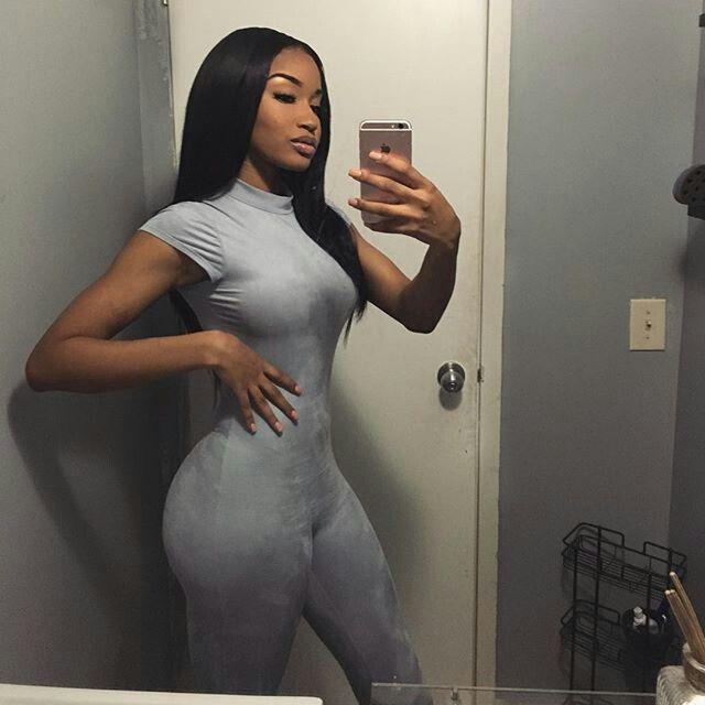 Booty sexy ebony girl thong ass tanga butt #selfie #
