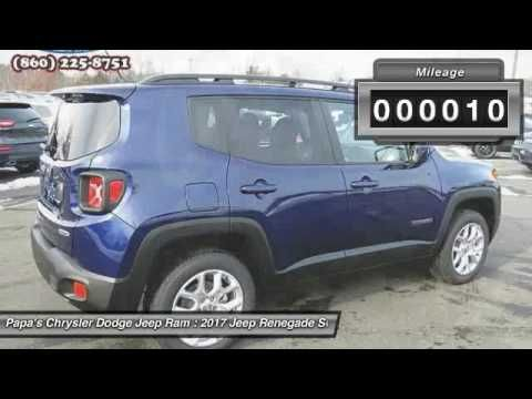 2017 Jeep Renegade New Britain CT 55989