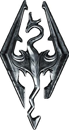 Skyrim logo Skyrim's a game with a storyline that
