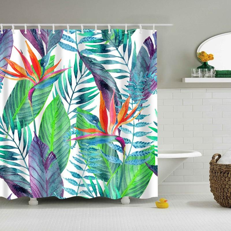 Tropical Bird Of Paradise Shower Curtain House Of Andaloo Home