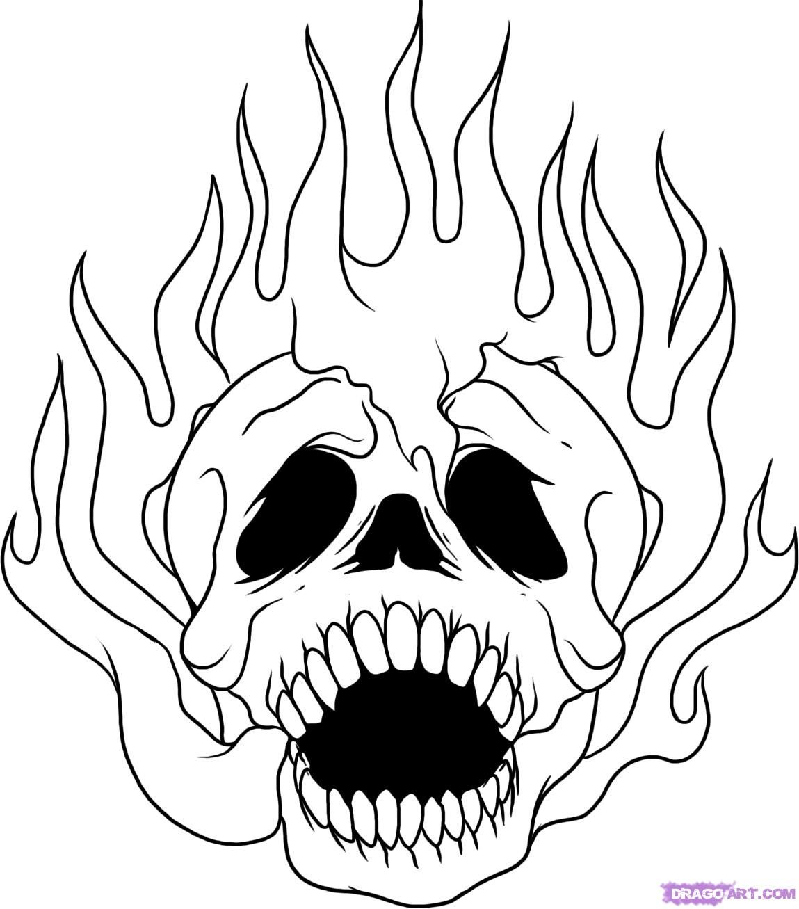 4153630 Fire Coloring Pages Roses Jpg 1149 1307 Skull Coloring Pages Cool Coloring Pages Halloween Coloring Pages