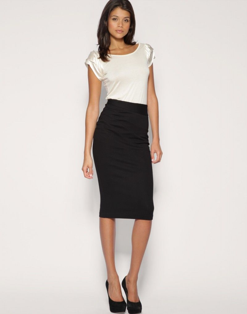 skirts black | Womens Skirts | Pinterest | Pencil skirts, Black ...