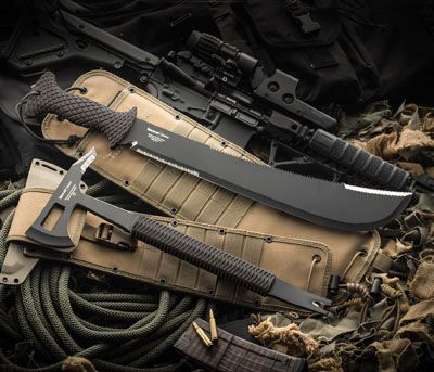 Timberline® Breaching Tool & Machete