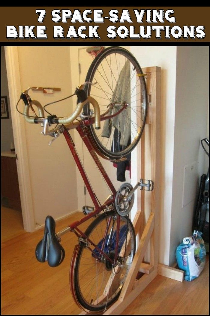 Best Space Saving Bike Rack Solutions Bike Storage Diy Bike Storage Apartment Diy Bike Rack