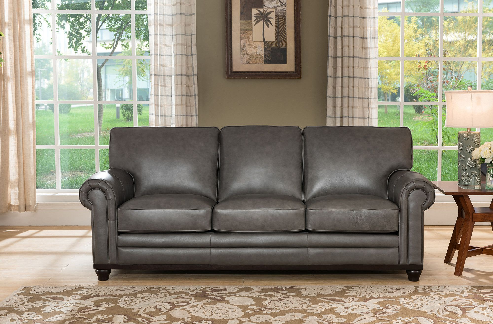 Stafford Top Grain Leather Sofa