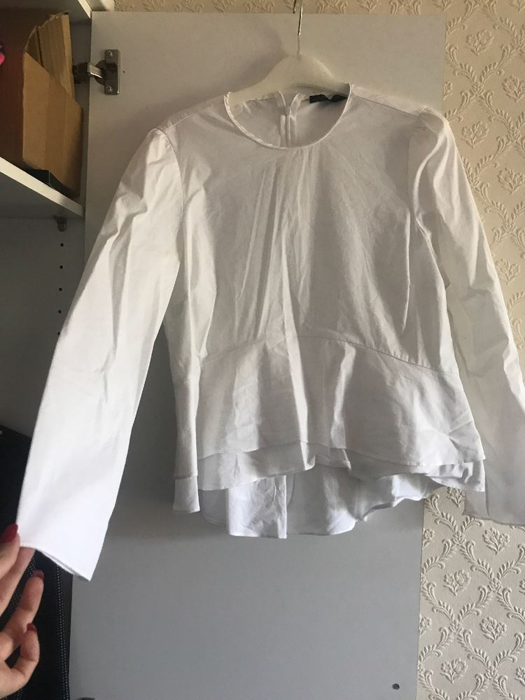 539aaca6071 Zara Womans White Work Office Top Size 10 12  fashion  clothing  shoes   accessories  womensclothing  tops (ebay link)