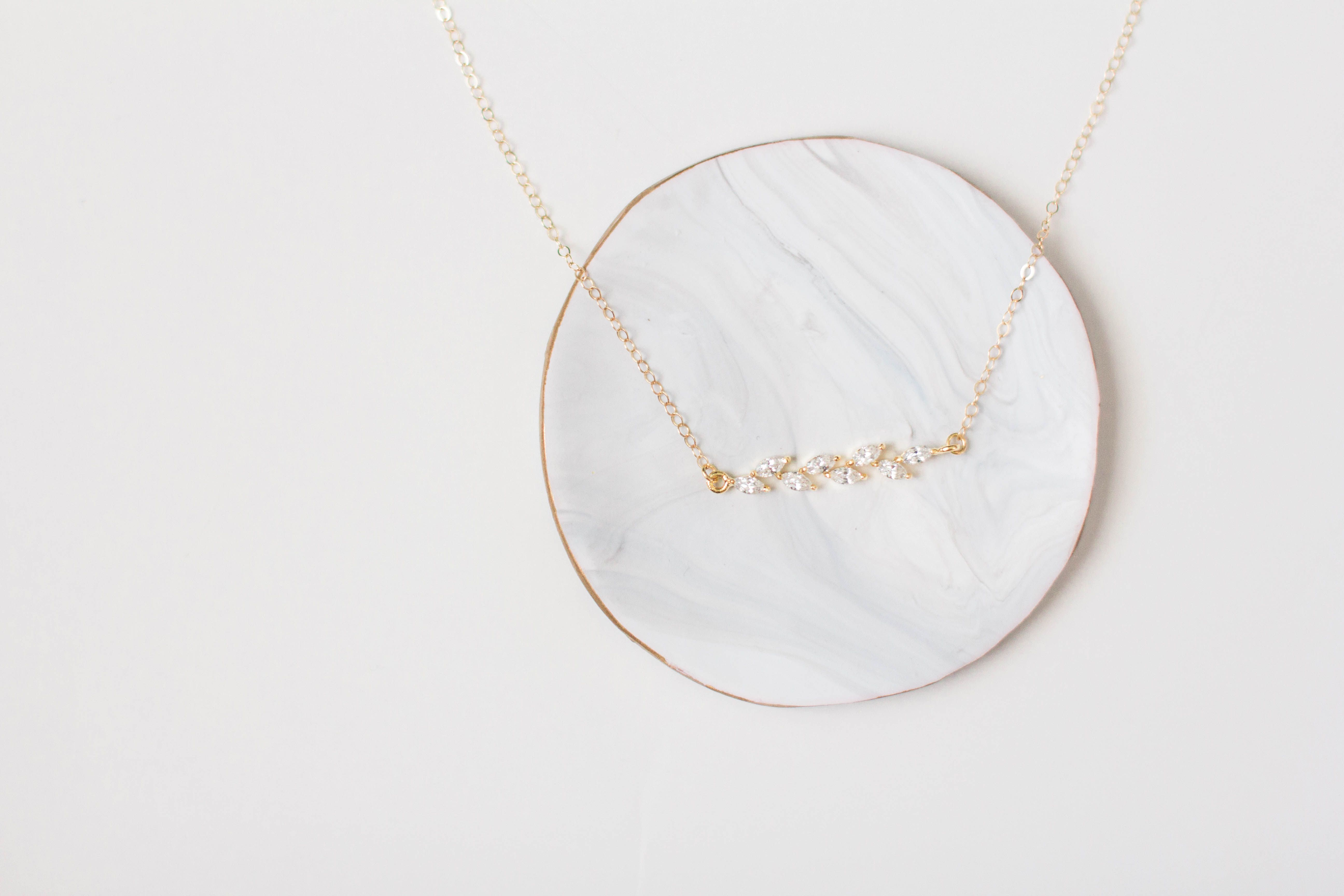 Gold Bar Layering Necklace - Gold Layering Necklace - Dainty Gold Necklace - Delicate Gold Necklace - Bar Necklace - Minimal Necklace