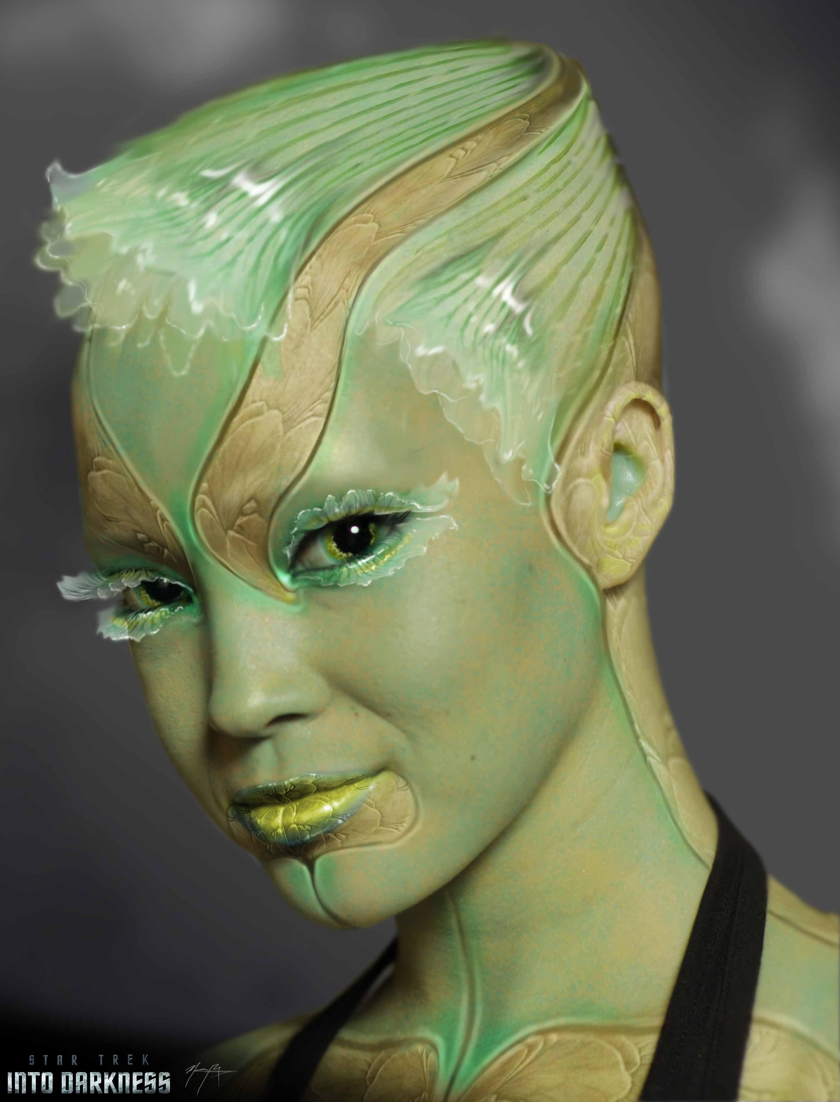 Azulene for dark spots on facial skin