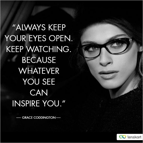 Glasses Quotes: Dose Of #Inspiration!
