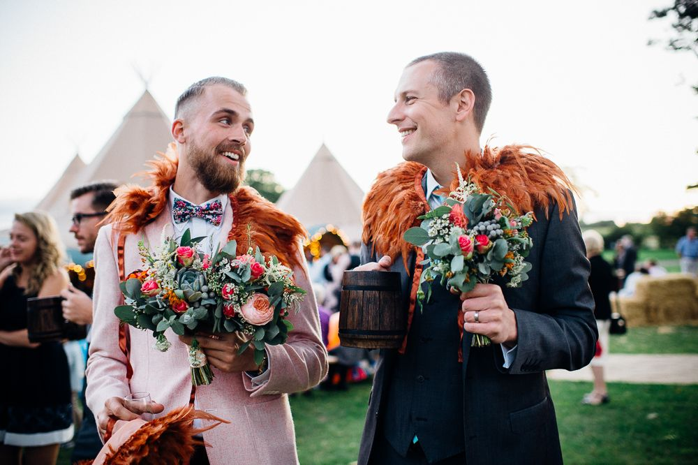 Image by Marianne Chua Photography - Sottero and Midgley Bridal Festival Wedding In A Tipi With A Teal & Burnt Orange Colour Scheme Marianne Chua Photography