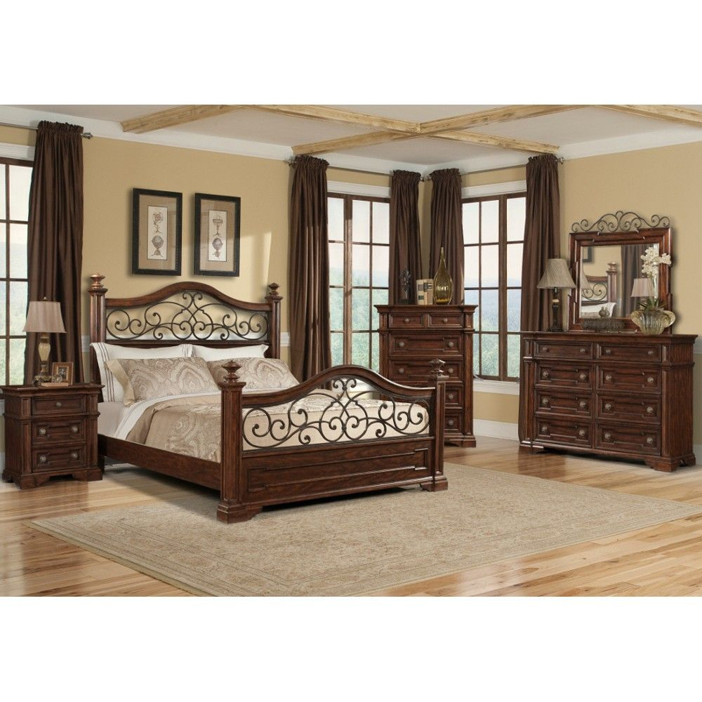 Bedset traditional bedroom by coaster at homelement furniture ...