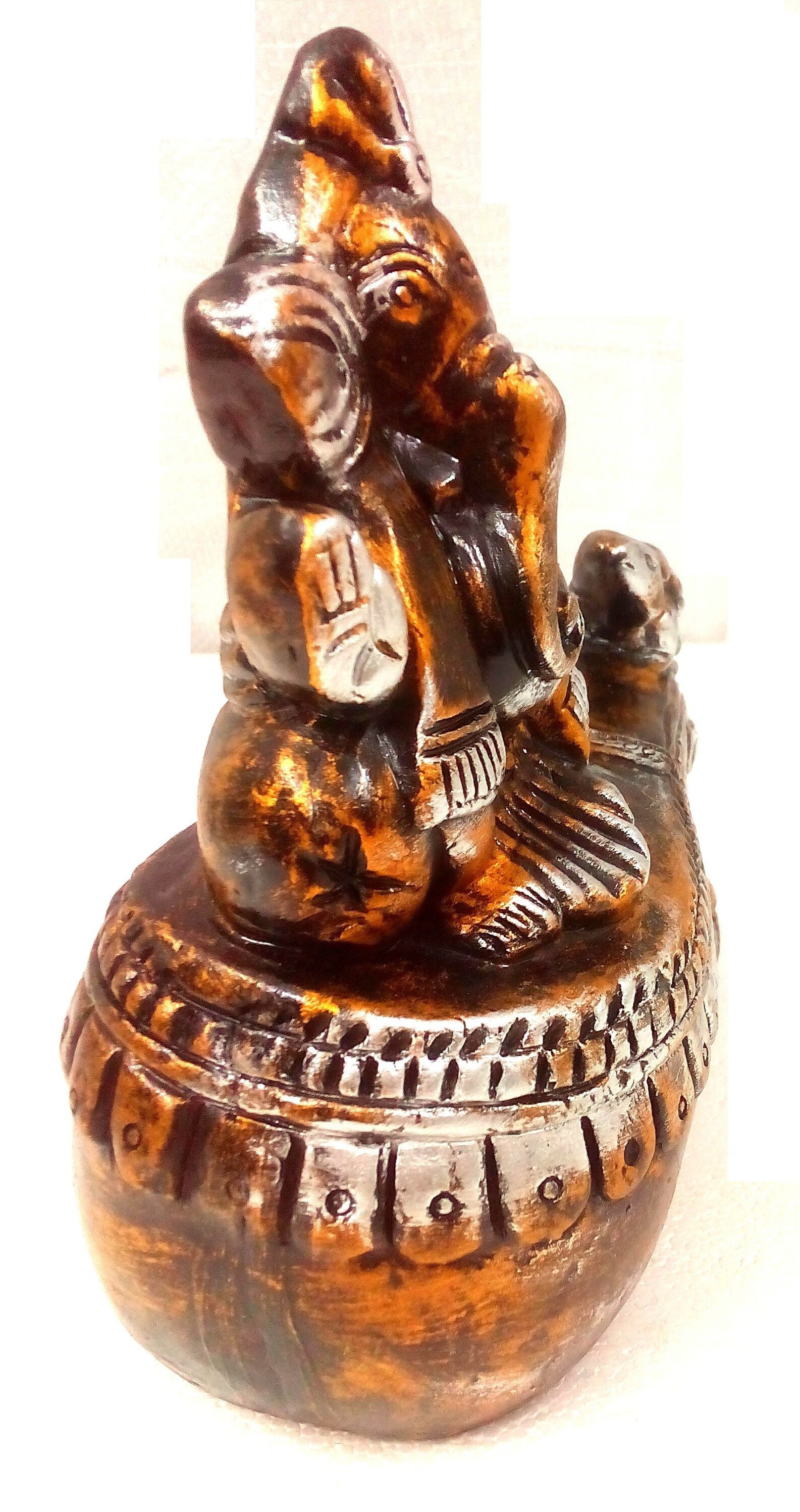 Handcrafted Terracotta Home Decor Ganesha Is Handmade By Skilled