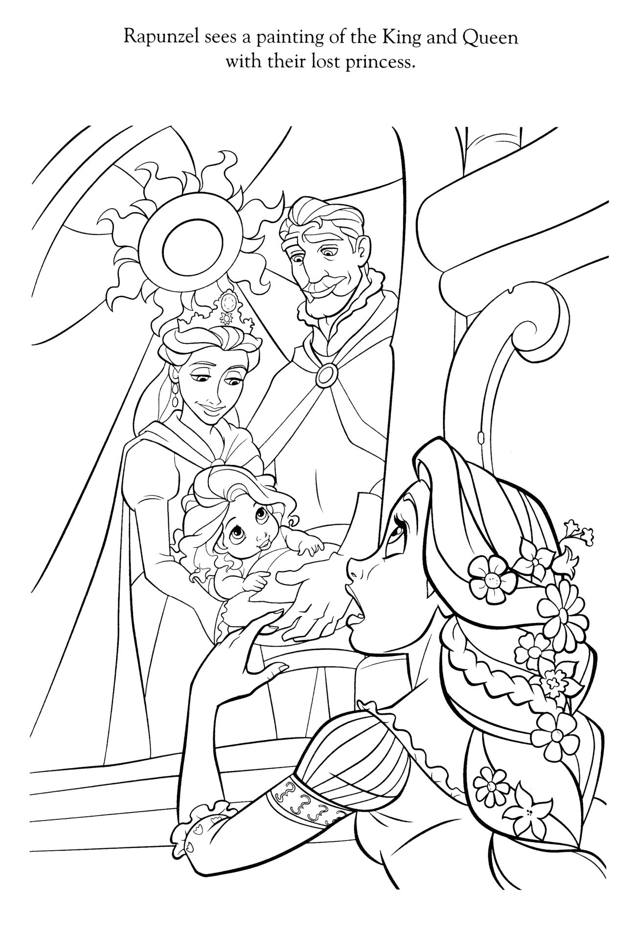 Disney Coloring Pages | painting\'s | Pinterest | Colorear, Páginas ...