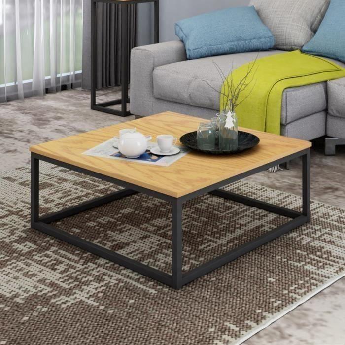 Table Basse Table Basse Style Industriel Table Basse Mobilier De Salon
