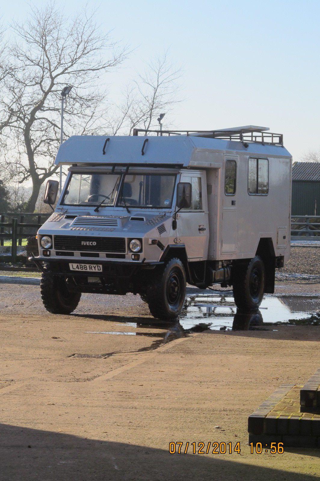 Iveco 40/10 WM 4x4 Expedition Camper | eBay When magirus