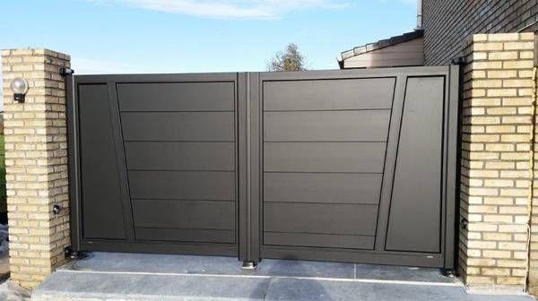 pingl par les portaliers portails alu sur portail alu gris anthracite pinterest portail. Black Bedroom Furniture Sets. Home Design Ideas
