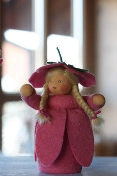 Rosenrot Blumenkinder Neues Dolls And Animals Diy Dolls