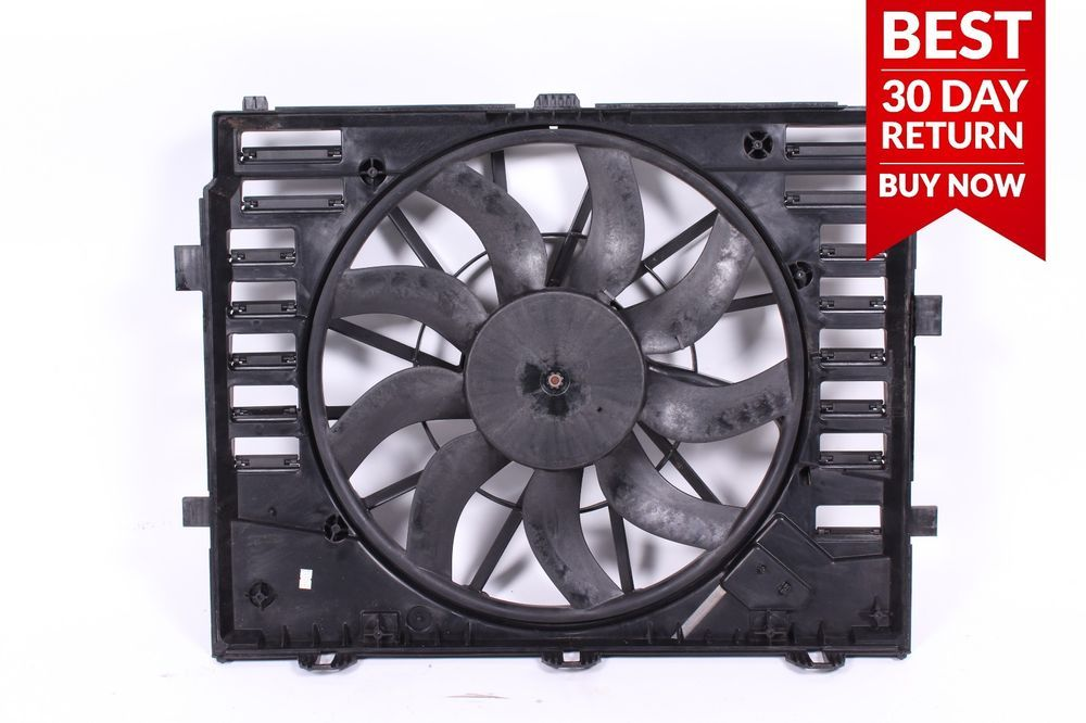 10 17 Porsche Cayenne 958 S Engine Radiator Cooling Fan Motor A66