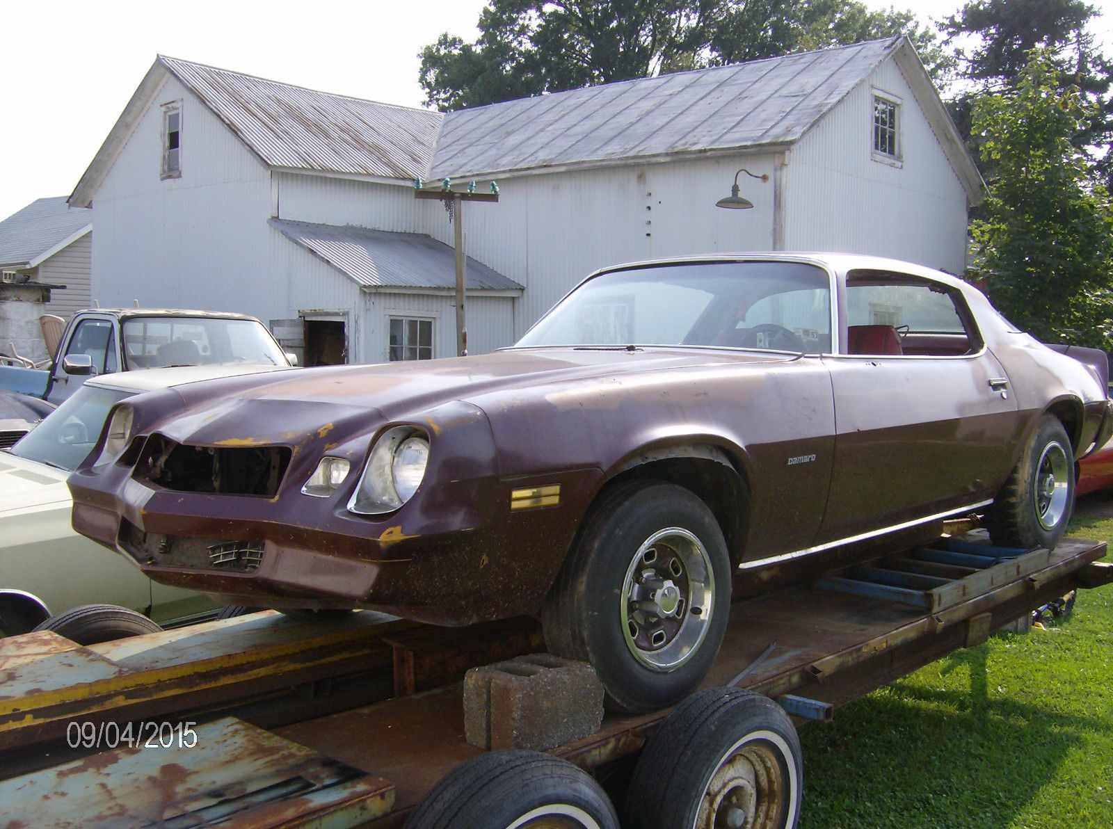 1981 chevrolet camaro sport coupe rolling project car for sale