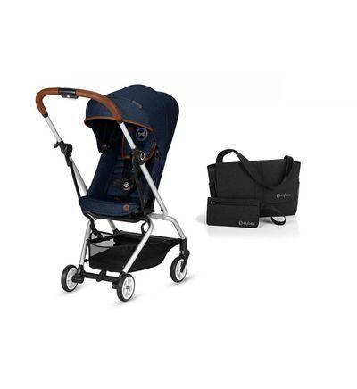 Cybex Pack Eezy S Twist Denim-Denim Blue et accessoire