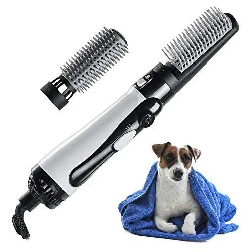 Mothermed Dog Hair Dryer With Slicker Brush 3 In 1 Portable Home