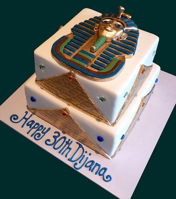 Peachy Tutankhamun Egyptian Cake Cake Designs Birthday Egyptian Party Funny Birthday Cards Online Necthendildamsfinfo