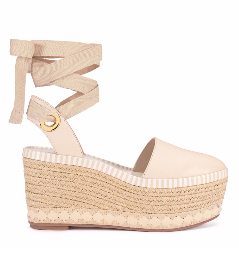 Dream closets · Tory Burch Dandy Espadrille Wedge