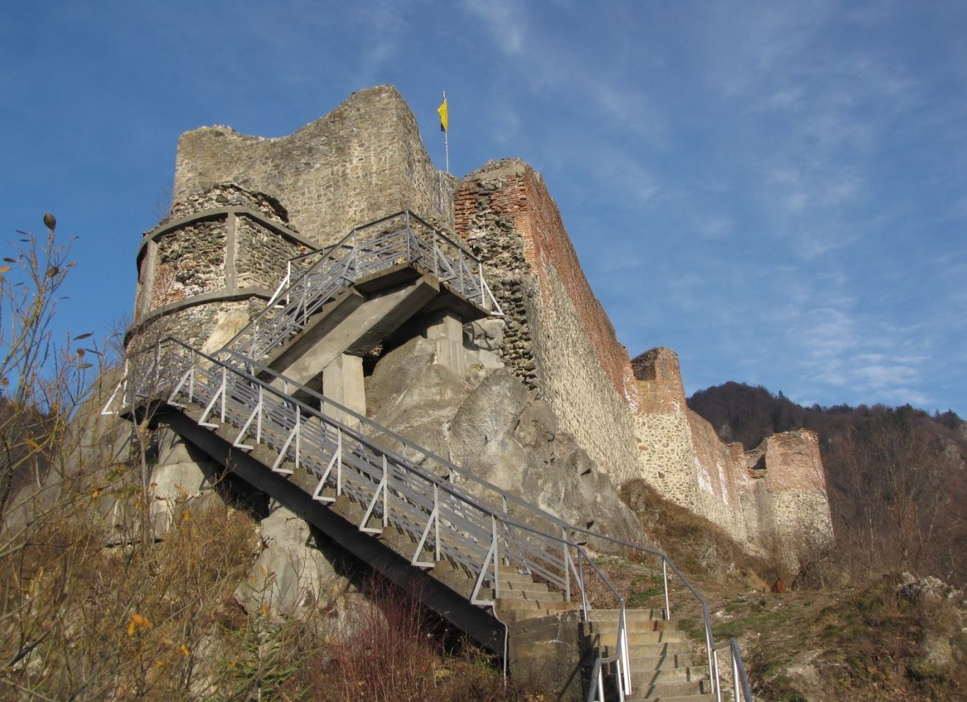 vlad the impaler castle ruins - | Romania | Pinterest ...