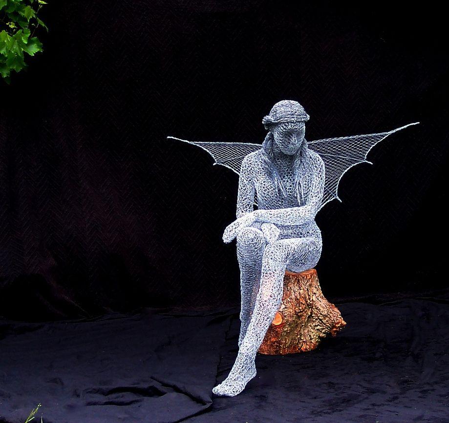 Derek Kinzett 1966 | British Wire sculptor