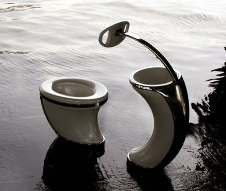 Another Very Cool Toilet Sink For Everyone Even Those In A Wheelchair Bathrooms Pinterest