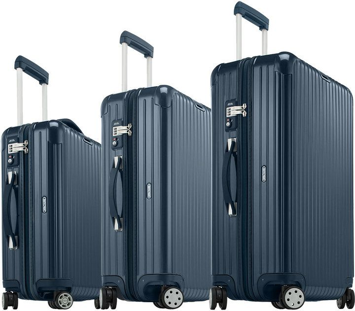 Rimowa North America Salsa Deluxe Yachting Blue Luggage