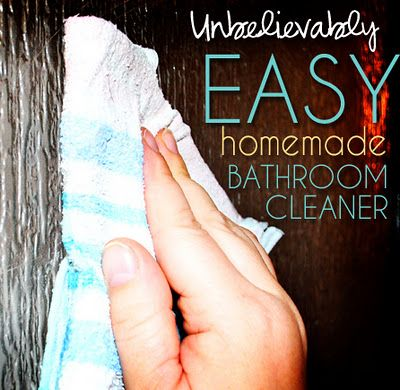 Best DIY Tub & Shower Spray. I saw a similar recipe for daily shower cleaner